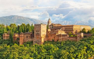 Festung in Granada
