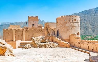 Fort Nakhal in Al Batinah, Oman
