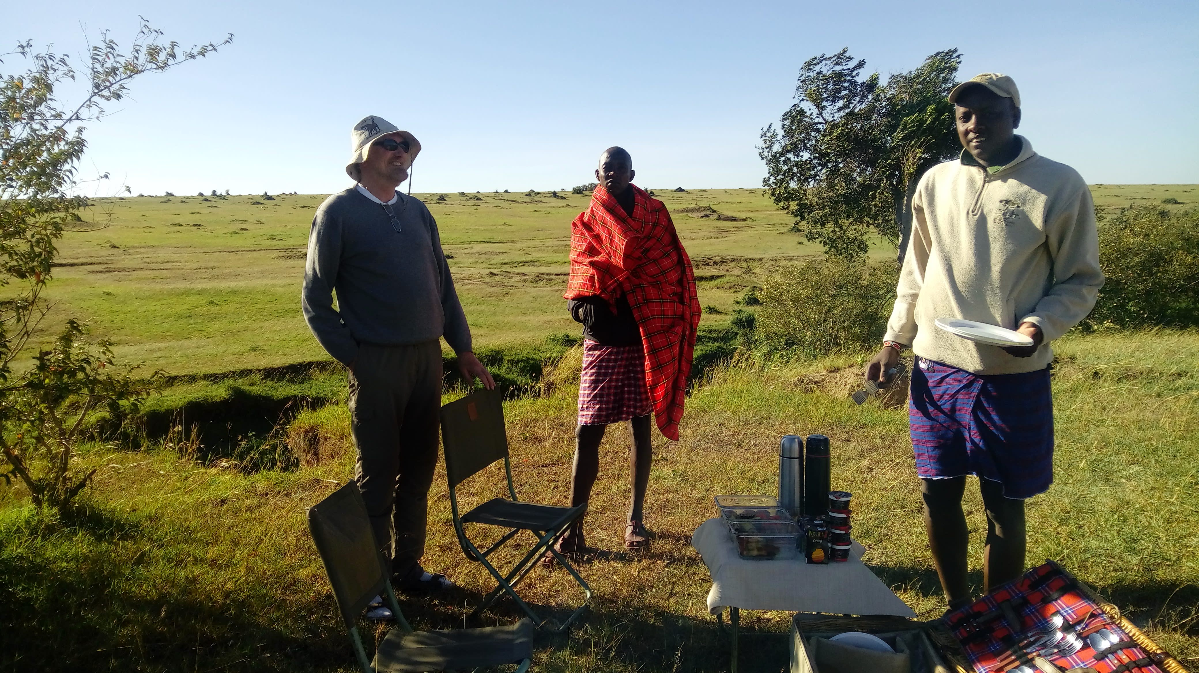 Unsere Gäste in Masai Mara, Kenia