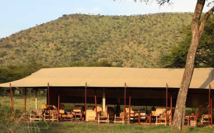 Exterior view at Dunia Camp C Serengeti (Central) in Tanzania