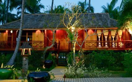 Bungalow mit Veranda im Amara Ocean Resort, Myanmar