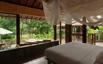 Zimmer im Six Senses Yao Noi in Koh Yao Noi, Thailand