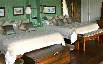 Cottage interior of Gibb's Farm, Lake Manyara & Ngorongoro Crater, Tanzania