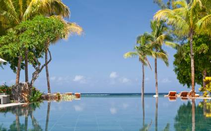 Pool at the Hilton Mauritius Resort and Spa in Mauritius, Africa