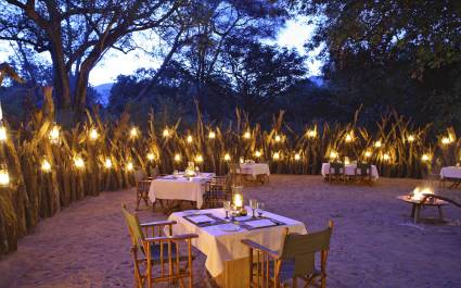 Dinner area at Lake Manyara Tree Lodge, Lake Manyara & Ngorongoro, Tanzania - best luxury vacation spots in the world - best luxury vacation spots in the world