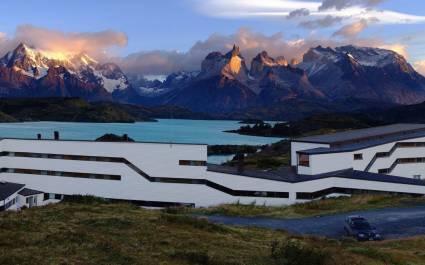 Explora Patagonias, Hotel am See
