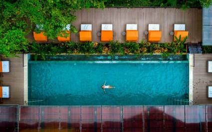 Pool im Nayara Springs Hotel in Arenal, Costa Rica