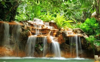 Heiße Quellen in Arenal, Costa Rica