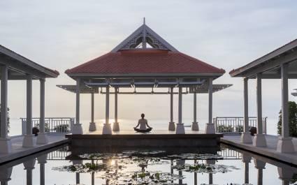 Enchanting Travels Thailand Tours Amatara Spa - Morning Yoga Class