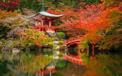 Enchanting Travels Japan Tours Kyoto scenery
