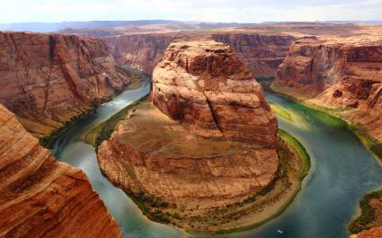 Horseshoe Bend in Grand Canyon NP