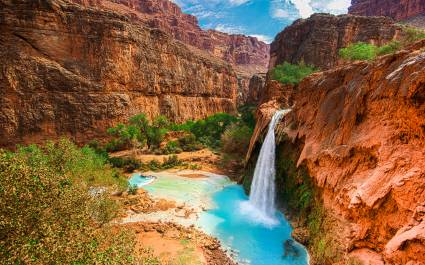 Havasu Falls Waterfalls