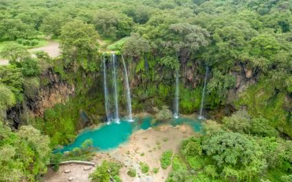 Ayn Athum waterfall, Oman