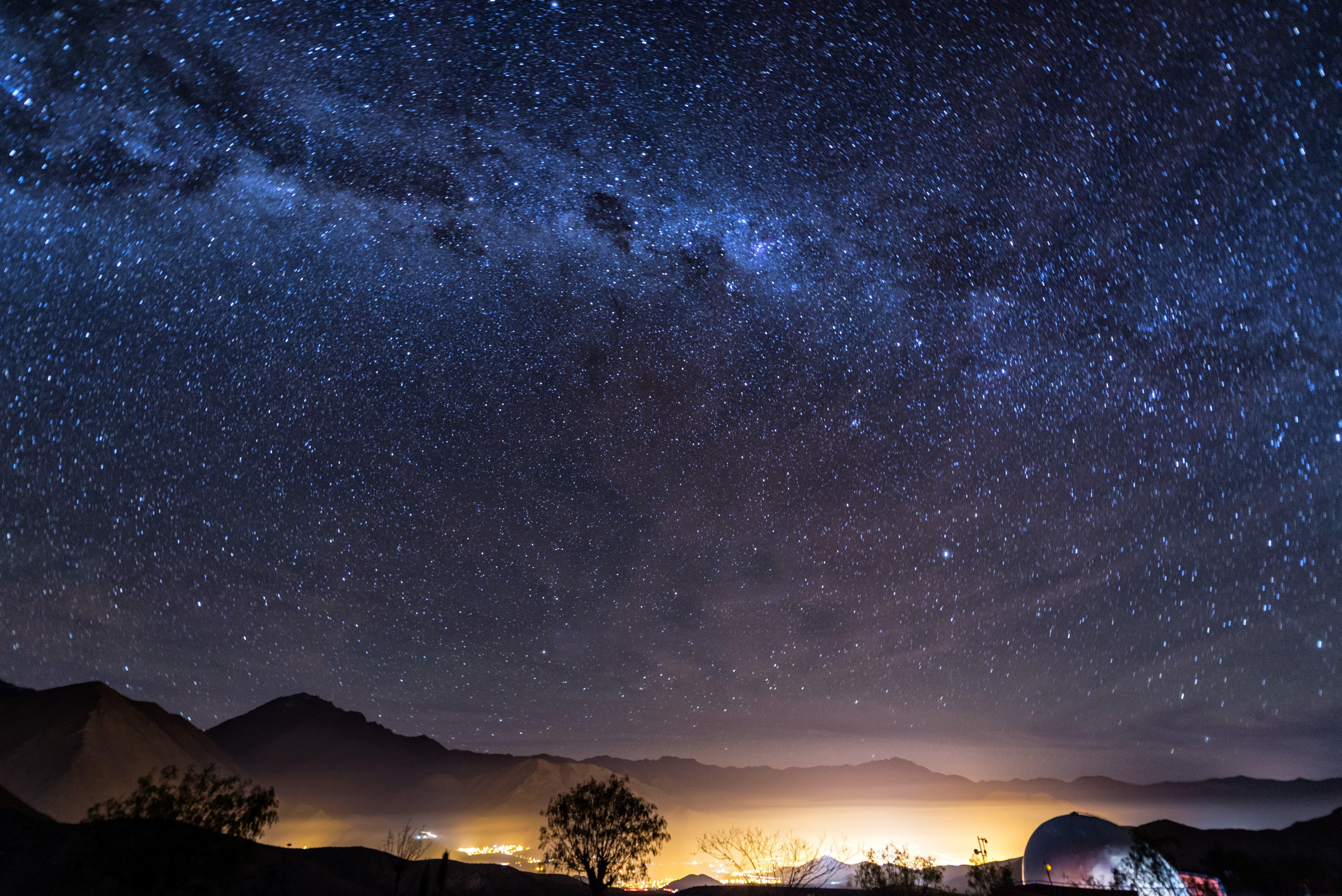 Atacama Wüste in Chile, Sternenhimmel