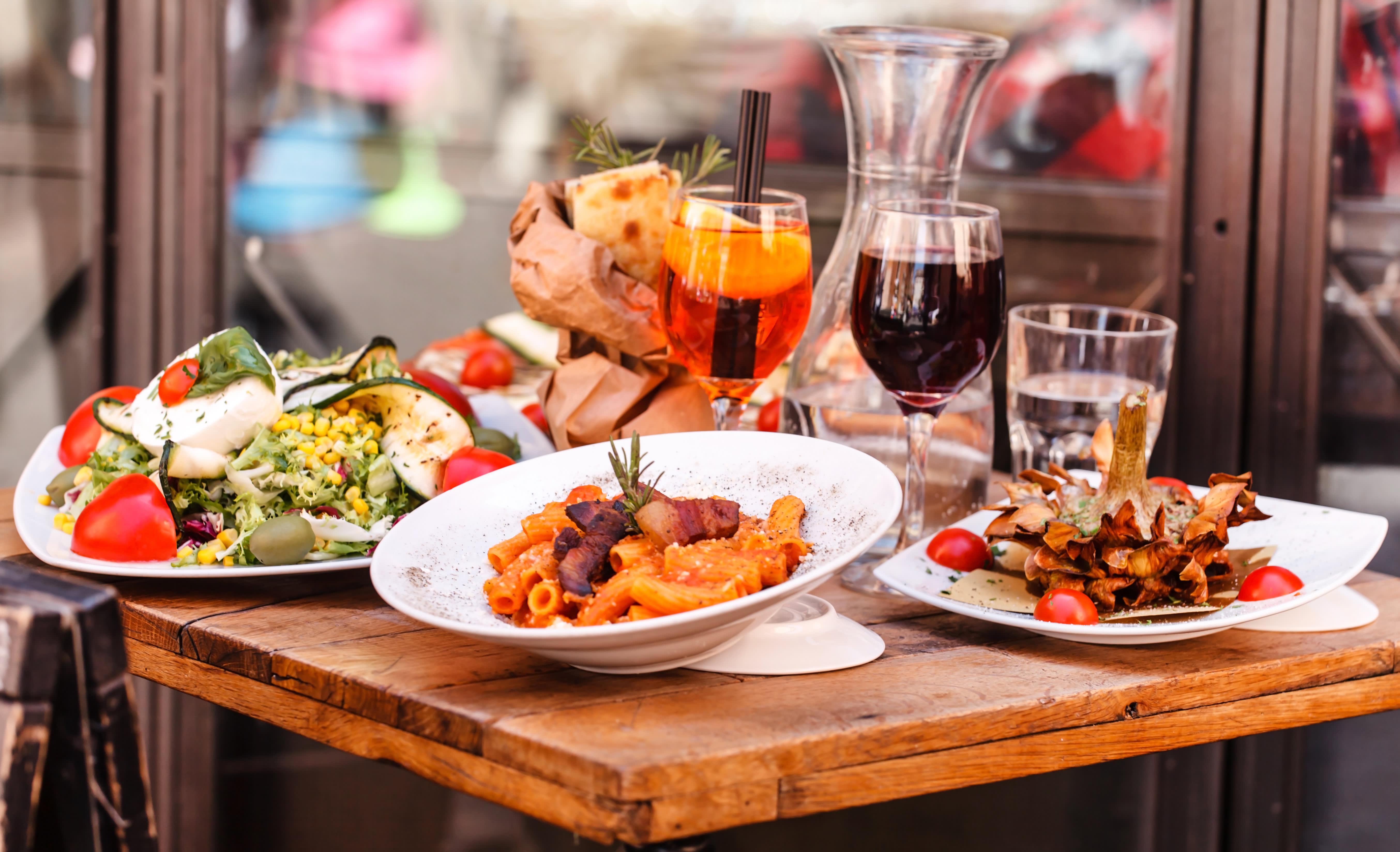 Italy food - italy tour