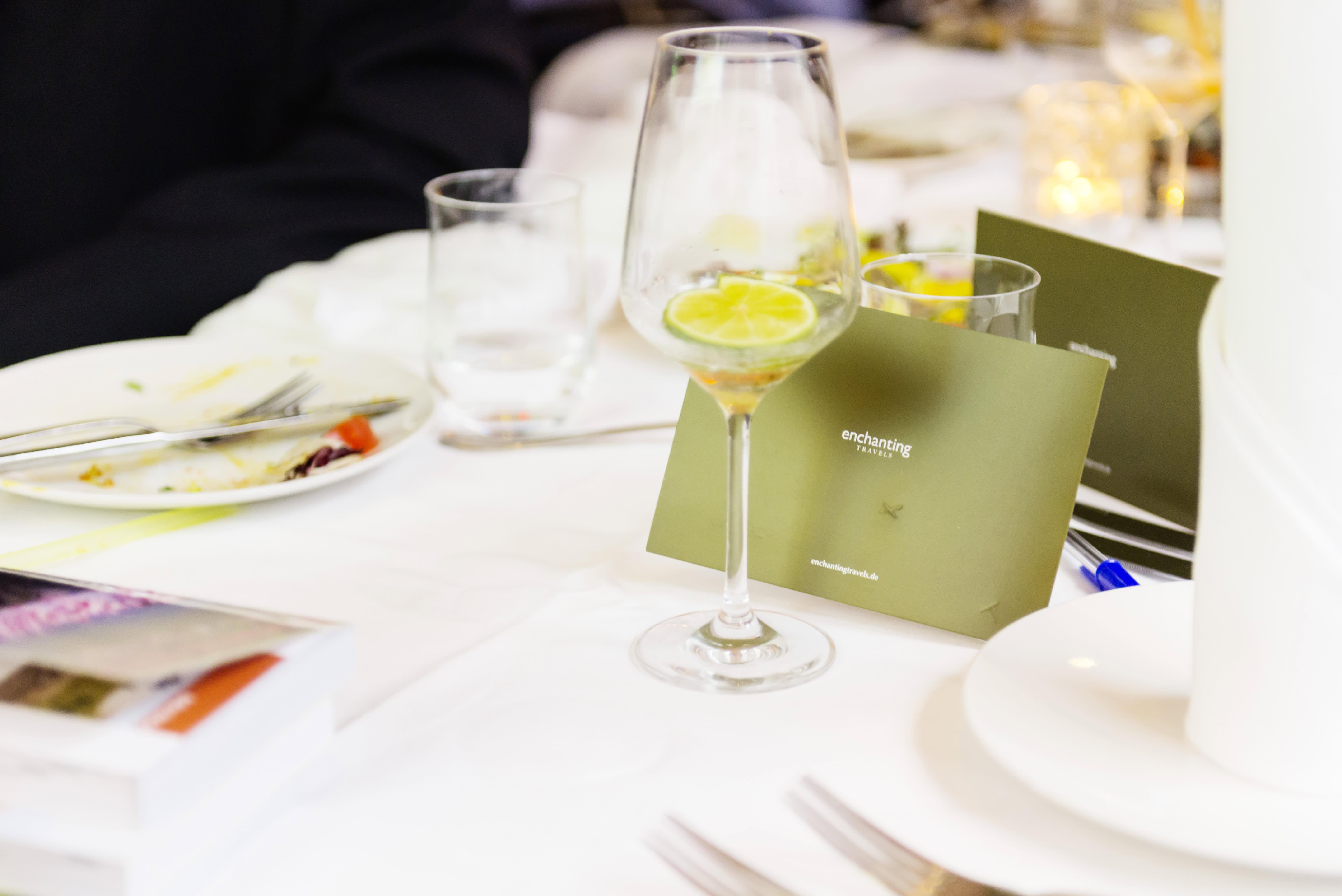 Gäste Event - Willkommens - Apéritif und Vorspeisen