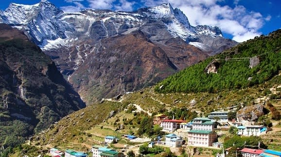 Berge von Shimla in Himalaja
