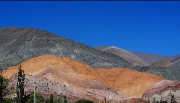 Berg der sieben Farben in Purmamarca