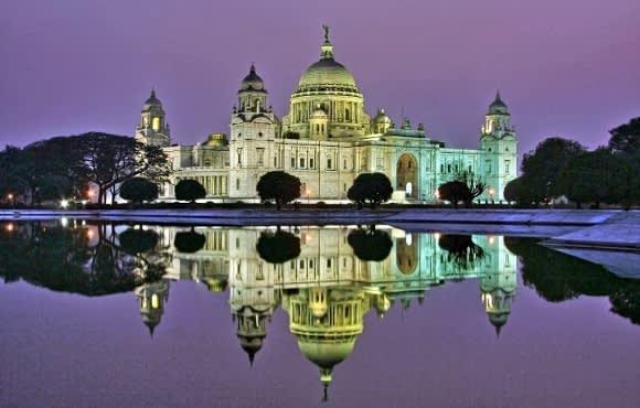 Gebäude in Kalkutta