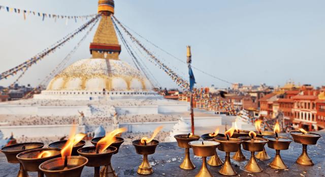 Boudhanath stupa of Nepal