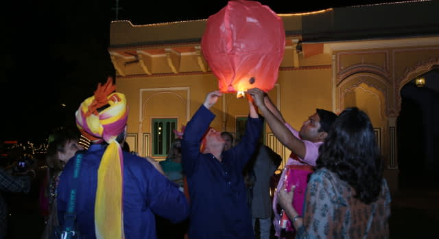 Fest der Lichter in Diwali in Indien