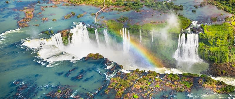 Iguazu Falls in South America - travel trends 2021