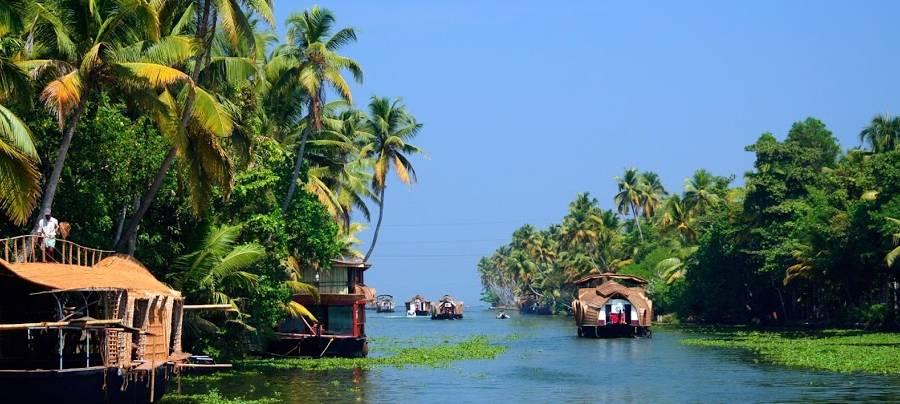Kerala Backwaters, Schauplatz des Onam Festes