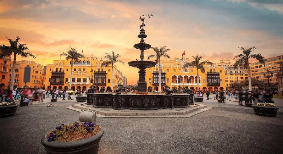 Zentrum von Lima, Peru