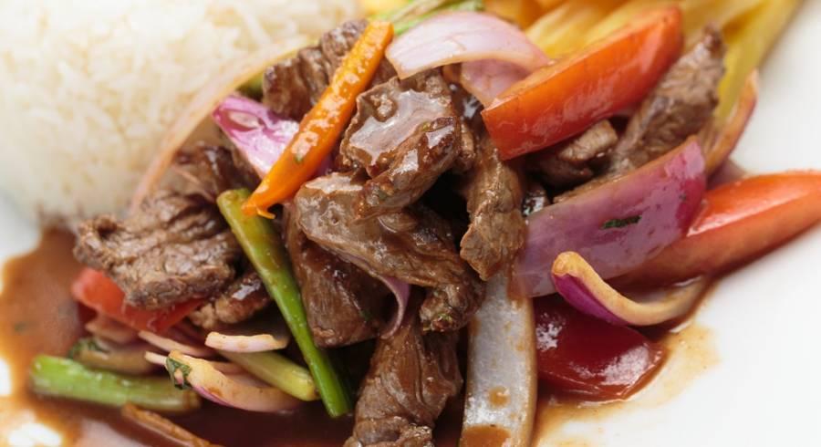 Essen in Peru: Lomo Saltado