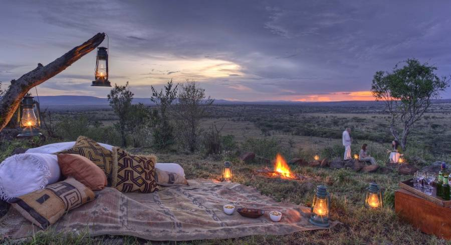 Enchanting Travels Kenya Tours Laikipia Hotels Kicheche Laikipia Camp outdoor