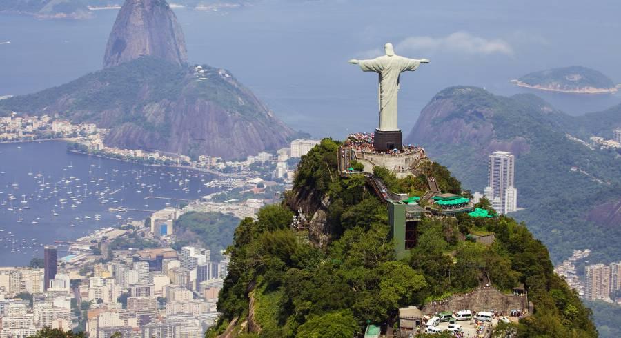 Wacht über die Stadt: Christo Redentedor