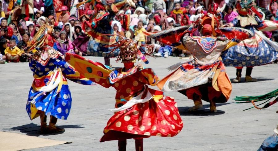 Festival in Thimphu