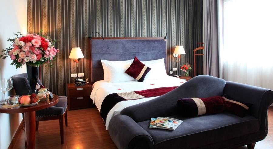 Room at Essence Hanoi Hotel & Spa in Hanoi, Vietnam