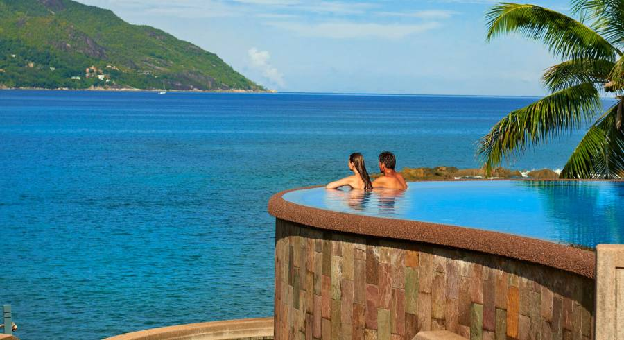 Seychelles offers pure relaxation on honeymoon.