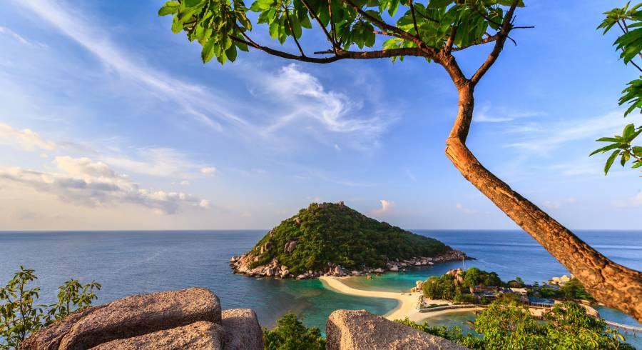Die traumhauften Aussichtspunkte gehören zu den Highlights von Koh Tao