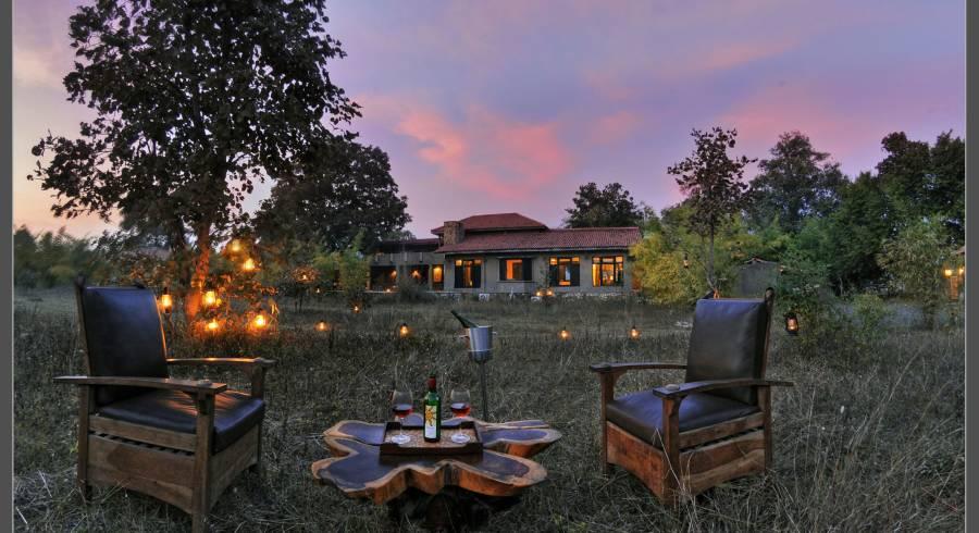 Kings Lodge Bandgavgarh i. der perfekte Ort für eine Tigersafari in Indien