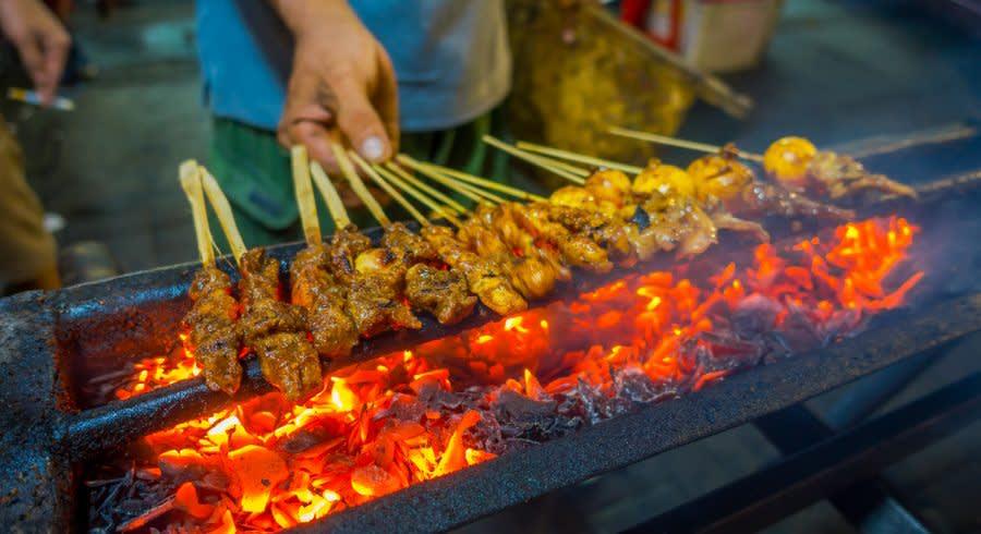 Südostasiatisches Street Food: Indonesischer Grill