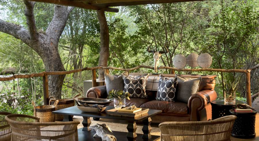 Enchanting Travels South Africa Tours Kruger Hotels Lion Sands Tinga Lodge lounge
