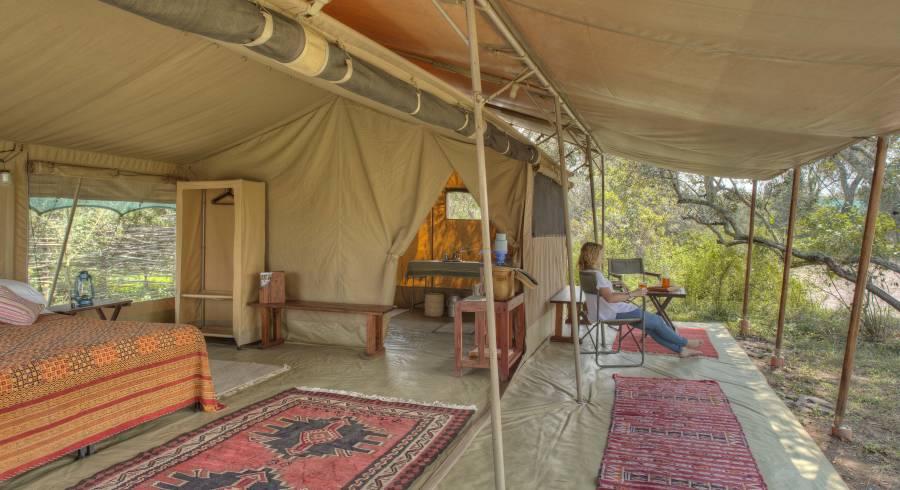 Guest tent at Ol Pejeta Bush Camp in Laikipia - Ol Pejeta / Solio, Kenya