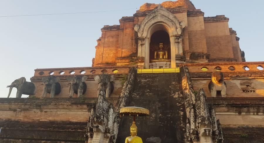 Tempelanlage Wat Chedi Luang