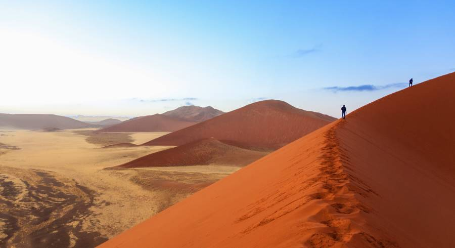 Dauntingly high dunes of Sossusvlei