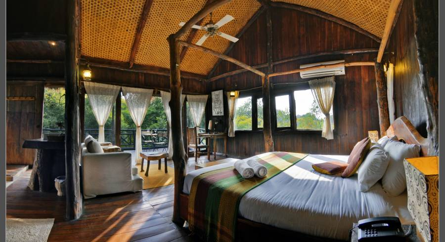 Enchanting Travels India Bandhavgarh Tree House Hideaway(Pugdundee Safari) Outdoor