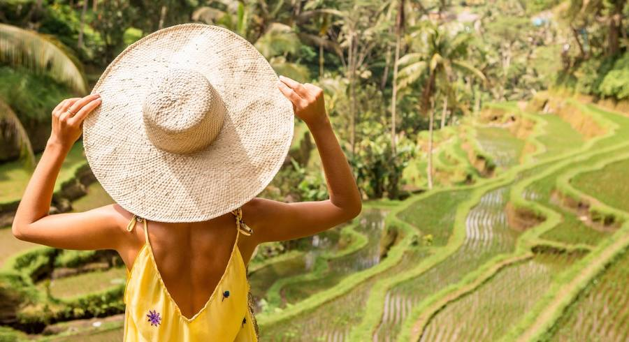 Ubud, Bali, Indonesia is one of our best honeymoon destinations