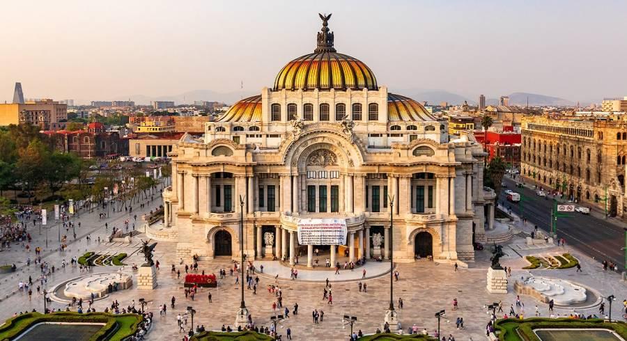 Enchanting Travels Mexico & Central America Tours Palacio De Bellas Artes Mexico City