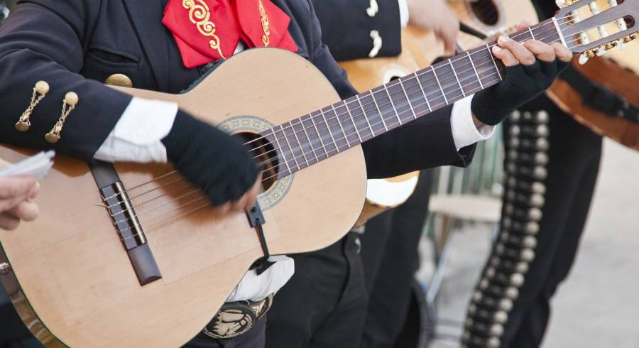 Enchanting Travels Mexico Tours Mariachi spain guitar player