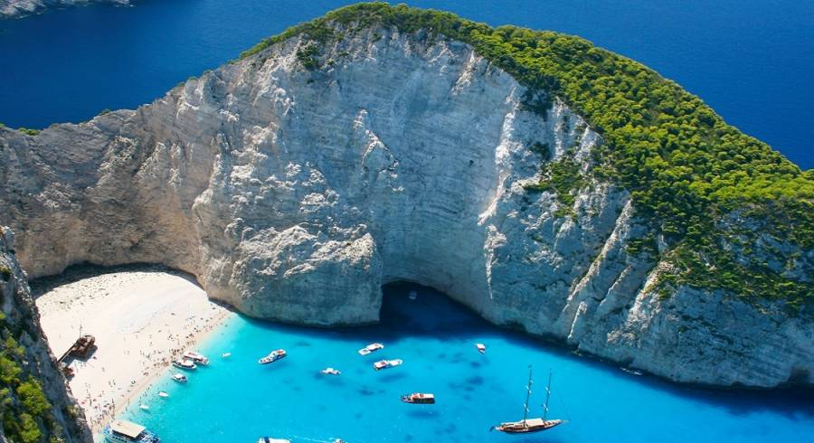 Amazing Navagio Beach in Zakynthos Island, Greece - one f the best things to do in Greece