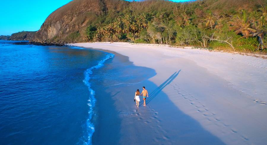 Fiji makes it onto our list of best honeymoon destinations for beach lovers.