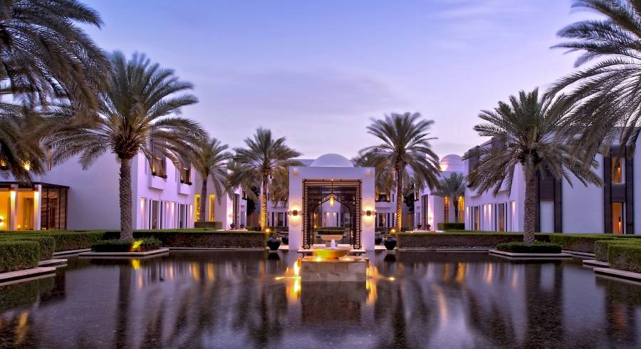 Water Gardens, The Chedi, Muscat