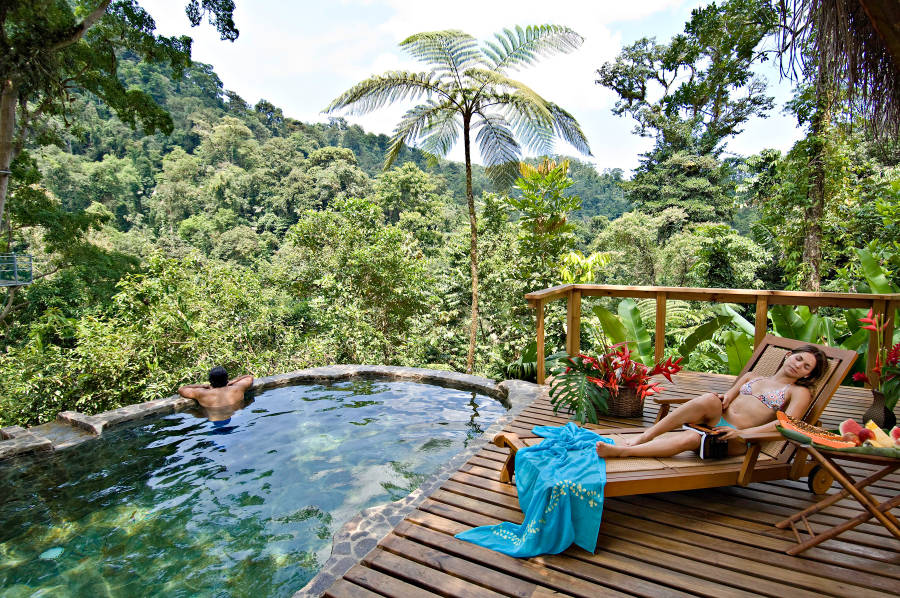 Costa Rica in February is one of our best honeymoon destinations.