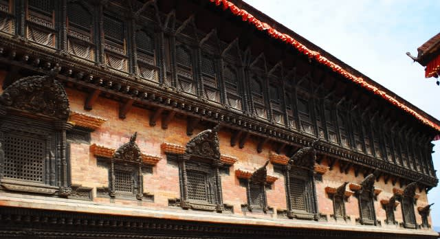 Travel to the Bhaktapur Durbar Square in Nepal, Asia
